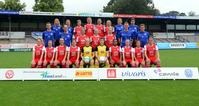 Team der Frauen I. Mannschaft